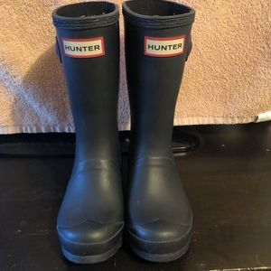 Hunter kids original rain boots